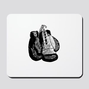 Vintage 8oz Boxing Gloves Mousepad